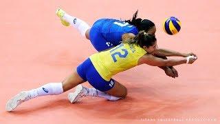 FAILS Volleyball Reception when SERVING | Women's Volleyball