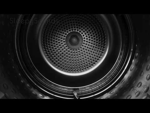 Clothes Dryer – 9 Hour Sleep Sound – Black Screen