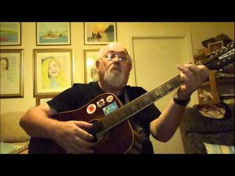 12-string Guitar: Carolina Moon (Including lyrics and chords)