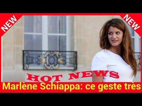 Marlène Schiappa: ce geste très personnel de la secrétaire d'Etat à l'égard des femmes atteintes du