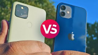 iPhone 12 vs. Pixel 5 camera comparison
