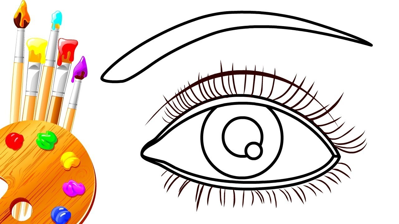 how to draw proper realistic eyes easy step by step art drawing