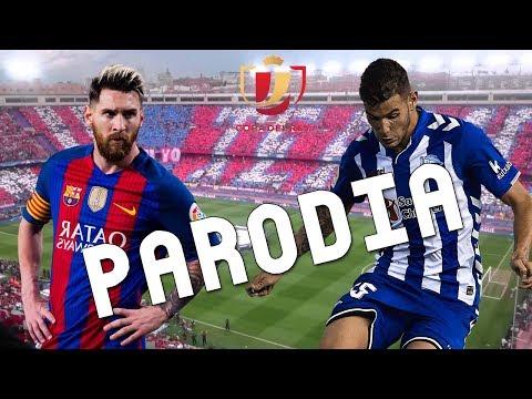 Cancion Barcelona vs Alaves 3-1 (Parodia Sigo Extrañandote – J Balvin)