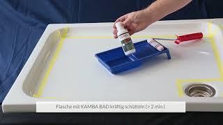 Produktvideo zu Antirutsch-Beschichtung KAMBA Bad für Badewanne & Boden