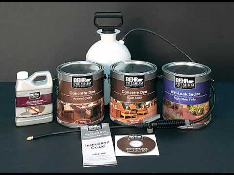 behr concrete stain home depot dye kit instructions video decorative