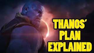 Avengers 4: The Thing You Missed About Thanos' Plan