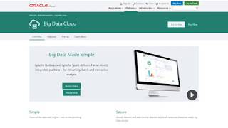 Create an Oracle Big Data Cloud Cluster In Oracle Cloud Infrastructure video thumbnail