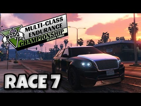 GTA 5 PS4 - Multi Class Endurance Championship: SUV (RACE 7)