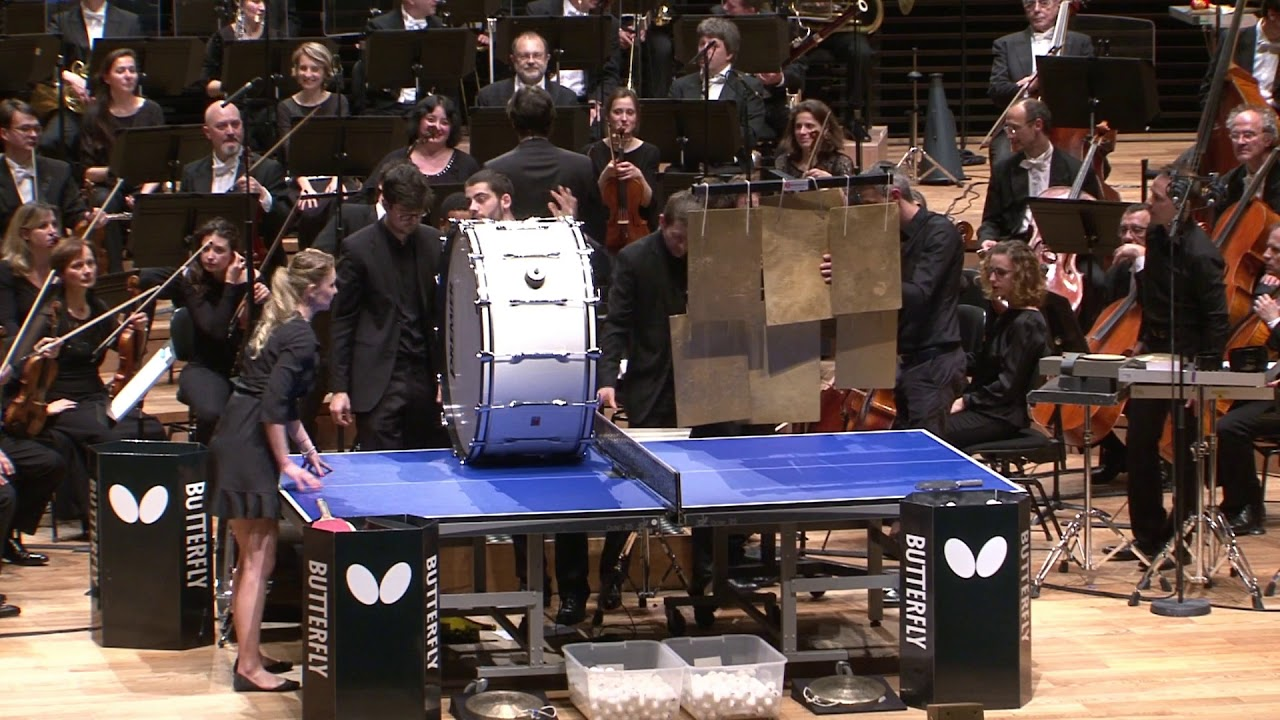 "Concerto ""Ricochet""(ping pong concerto) Andy Akiho,Masmondet, Legoût, Dodean, Medouze, Varbanov,"