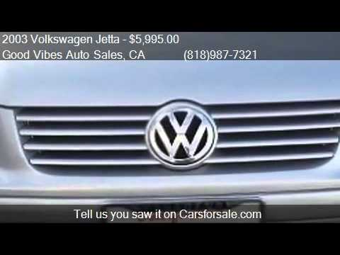 2003 Volkswagen Jetta GL 1.8T - for sale in North Hollywood,