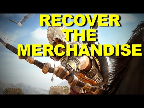 "AC Origins - ""Recover The Merchandise"" Timed Event Quest Walk-Through & Guide ☑️"