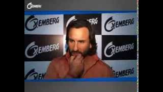 Behind the scenes: Oxemberg photoshoot with Saif Ali Khan