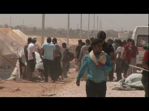 Syrian Refugees Struggle To Adapt To New Surroundings In Jordan