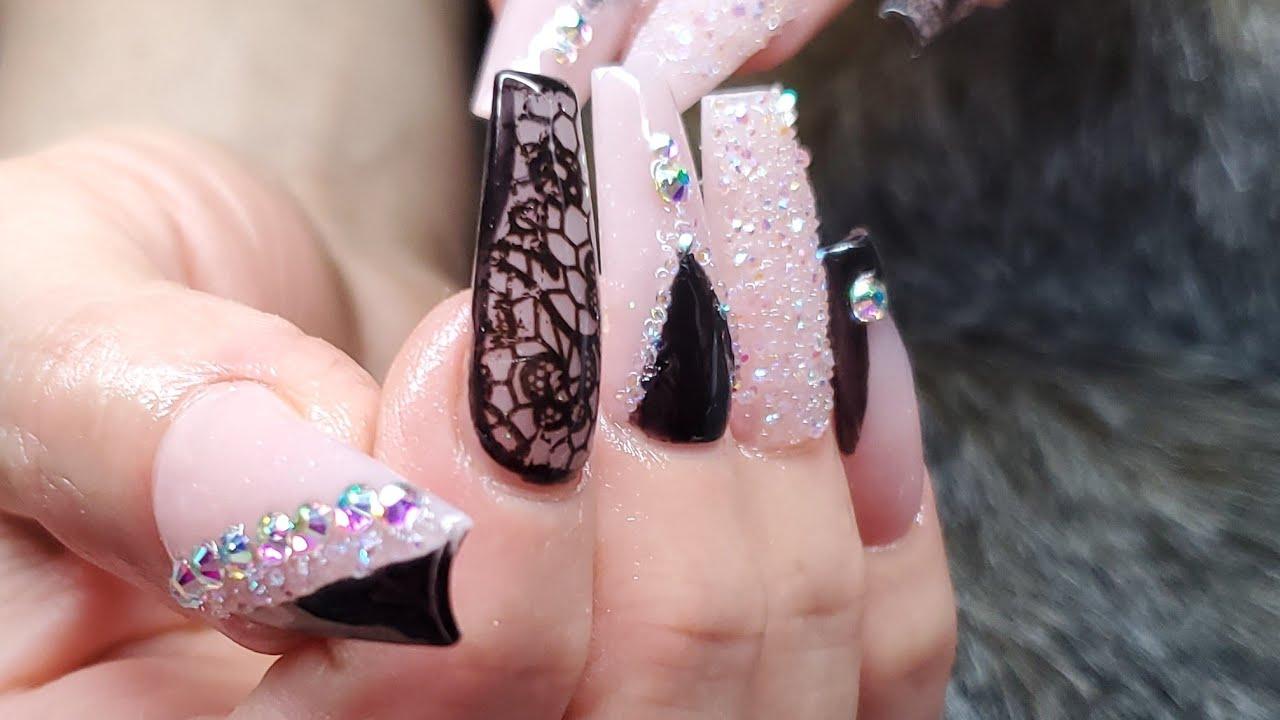 Diseño Para Vestido Negro De Noche