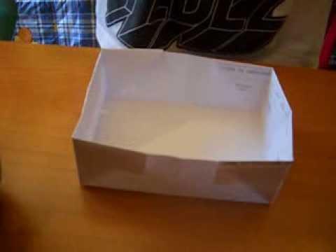 Tutorial come costruire una scatoletta di carta youtube for Come costruire i passaggi della scatola