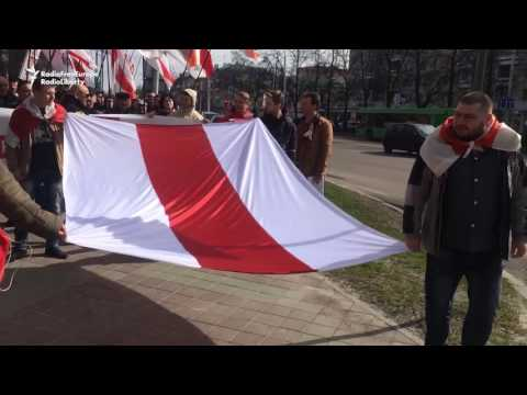 Belarusians Protest In Homel And Brest