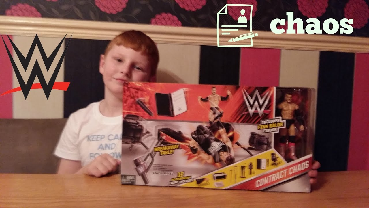 WWE Contract Chaos Playset