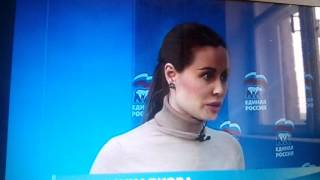 Юля-красотуля на дебатах2