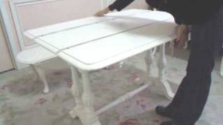 Shabby Chic Style Vintage Console Table - Home Furniture
