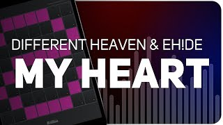 Playing MY HEART Different Heaven EH DE On SUPER PADS LIGHTS Launchpad KIT HEART