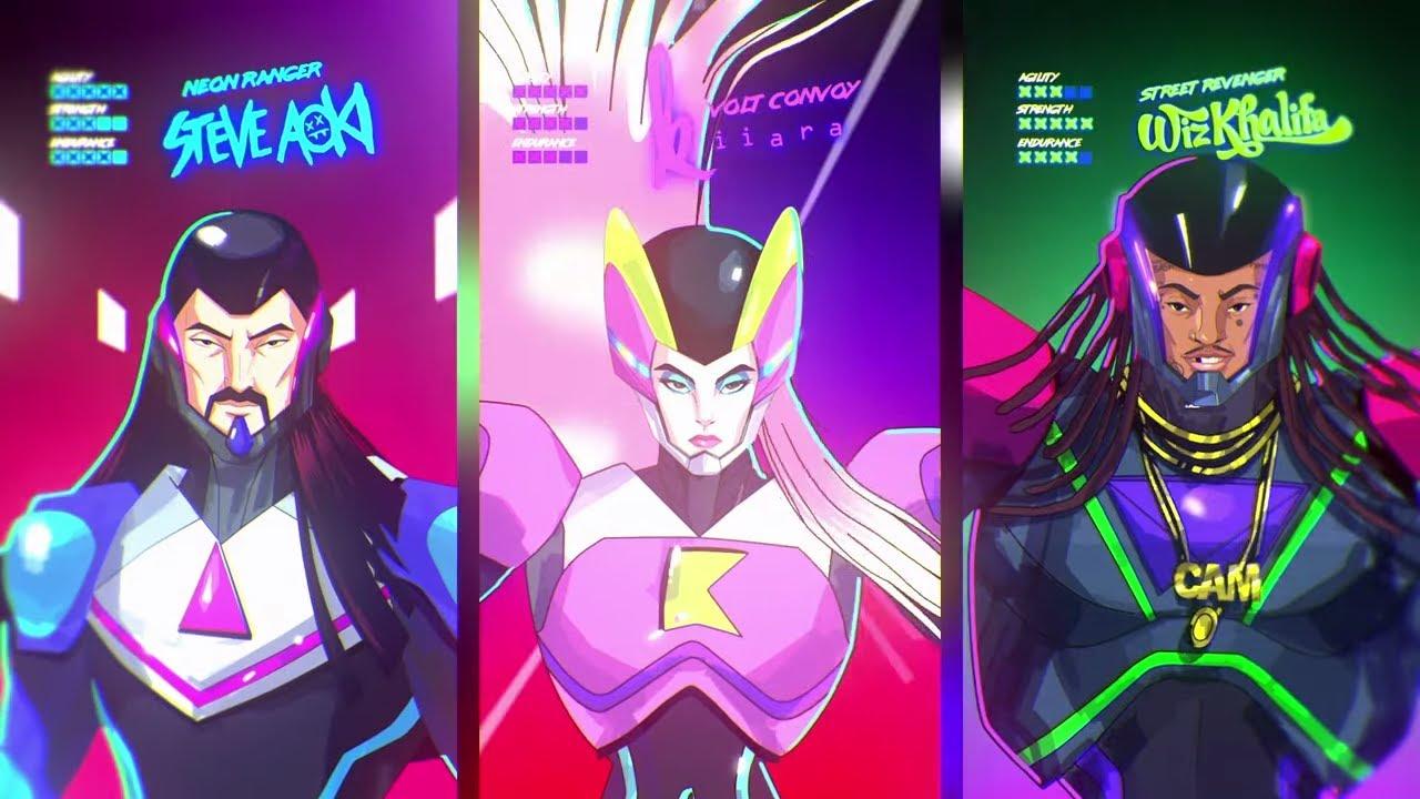 Steve Aoki & Kiiara - Used To Be (feat. Wiz Khalifa) [Official Music Video]