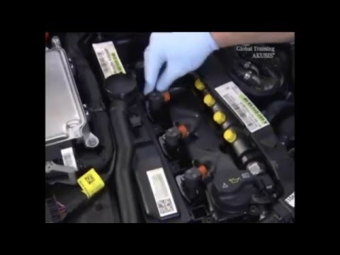 Mercedes Benz CDI OM651 Diesel Fuel Injectors Replacement