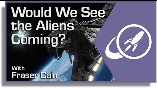 Would We See the Aliens Coming?
