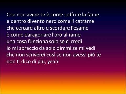 Gemitaiz - CANZONE TRISTE lyrics.wmv