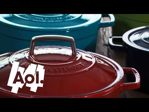 How To Use An Enameled Cast Iron Pot | Martha Stewart
