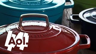 How To Use An Enameled Cast Iron Pot | Martha Stewart