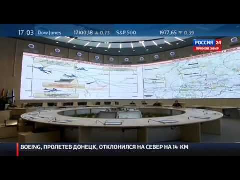 Russian Ministry of Defence briefing on MH 17 Boeing 777 aircrash  21 07 2014