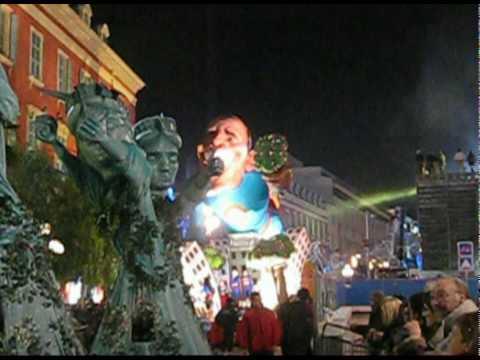 carnaval de Nice le soir