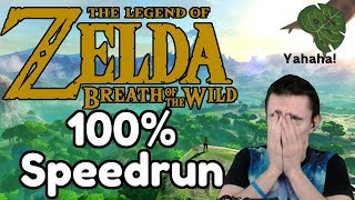 I was crazy enough to do a Breath of the Wild 100% Speedrun [1/4]
