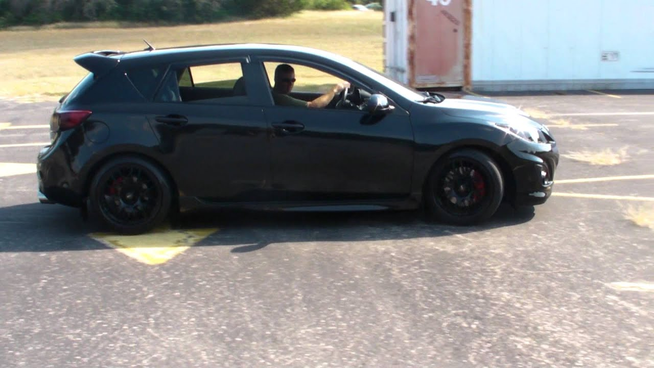 Corksport Driver Tx 2010 Mazdaspeed 3 Parking Lot Fun