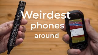 Weirdest craziest phones around