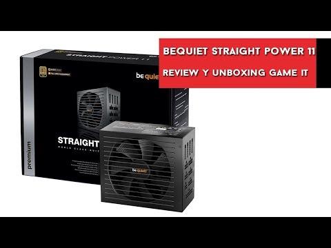 BeQuiet Straight Power 11, review y unboxing en español