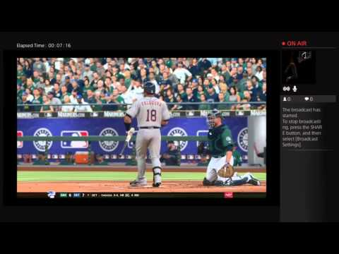 MLB The Show 16 Mariners Franchise Mode No Hitter Attempt
