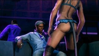 Trojan Whores: Pierce Enjoys Sexy Stripper Lapdance. Hooker Assassins (Saints Row 3. Party Girl)