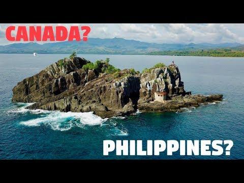 BecomingFilipino in CANADA or the PHILIPPINES? (Unique Bird Island)