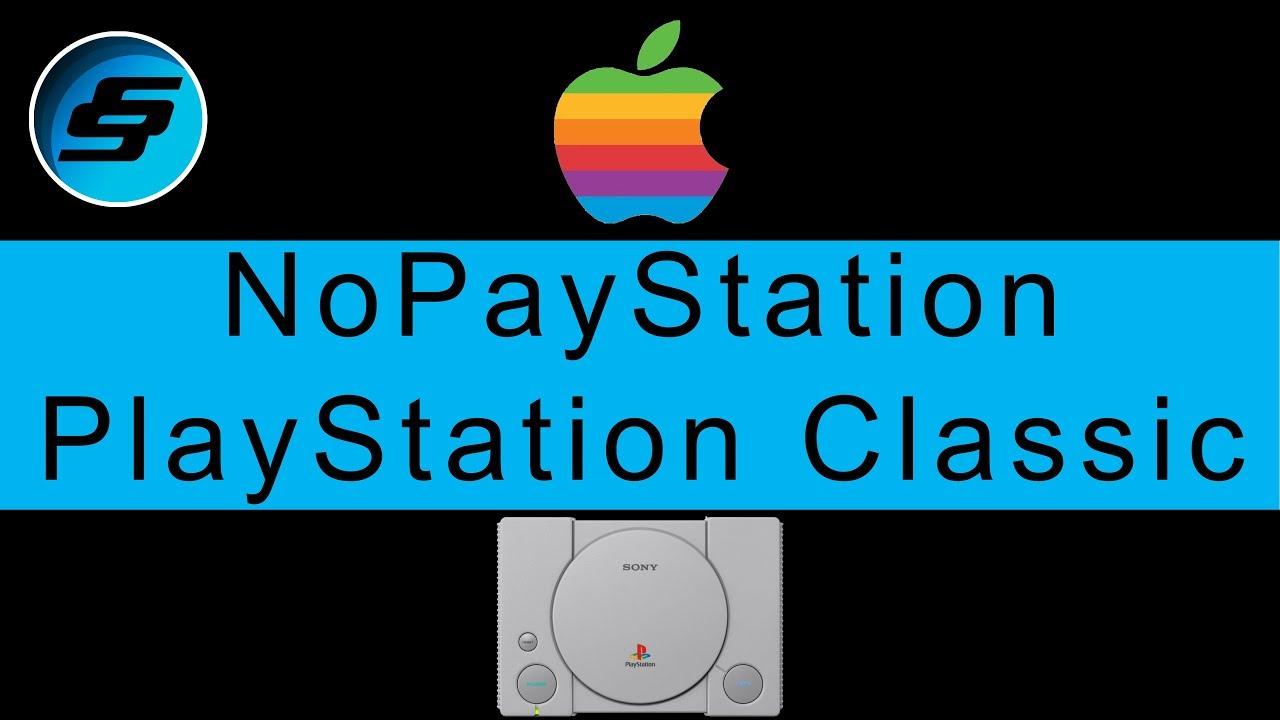 PlayStation Classic NoPayStation Browser (NPS - All Games Free) Mac OS X  Setup