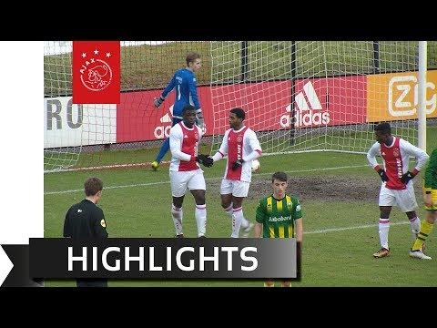 Highlights Ajax O17 - ADO Den Haag O17