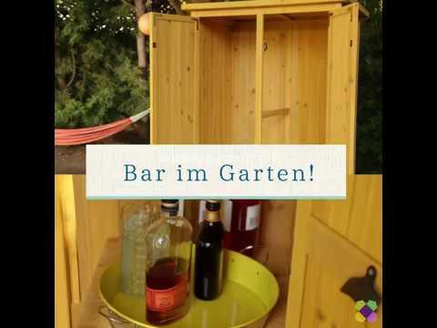 Gartenbar Selber Bauen Garten Ideen Youtube