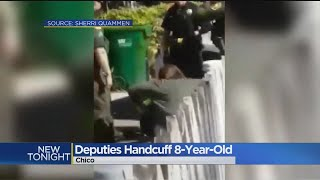 Eight-Year-Old Handcuffed By Police