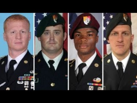 Pentagon probes death of four US soldiers in Niger