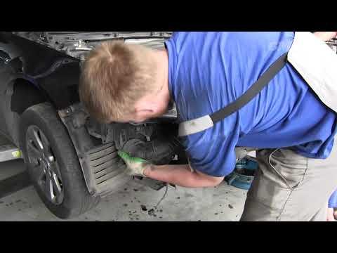 Opel Insignia - промывка радиаторов