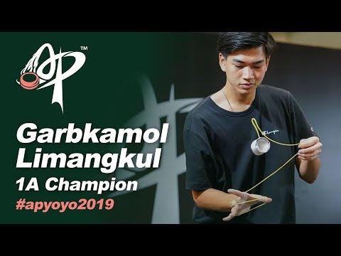 Garbkamol Limangkul (TH)  : 1A Division Finals - Asia Pacific Yo-Yo Championships 2019