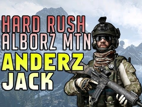 Rush Alborz Mountain Hard Attack with AnderzEl
