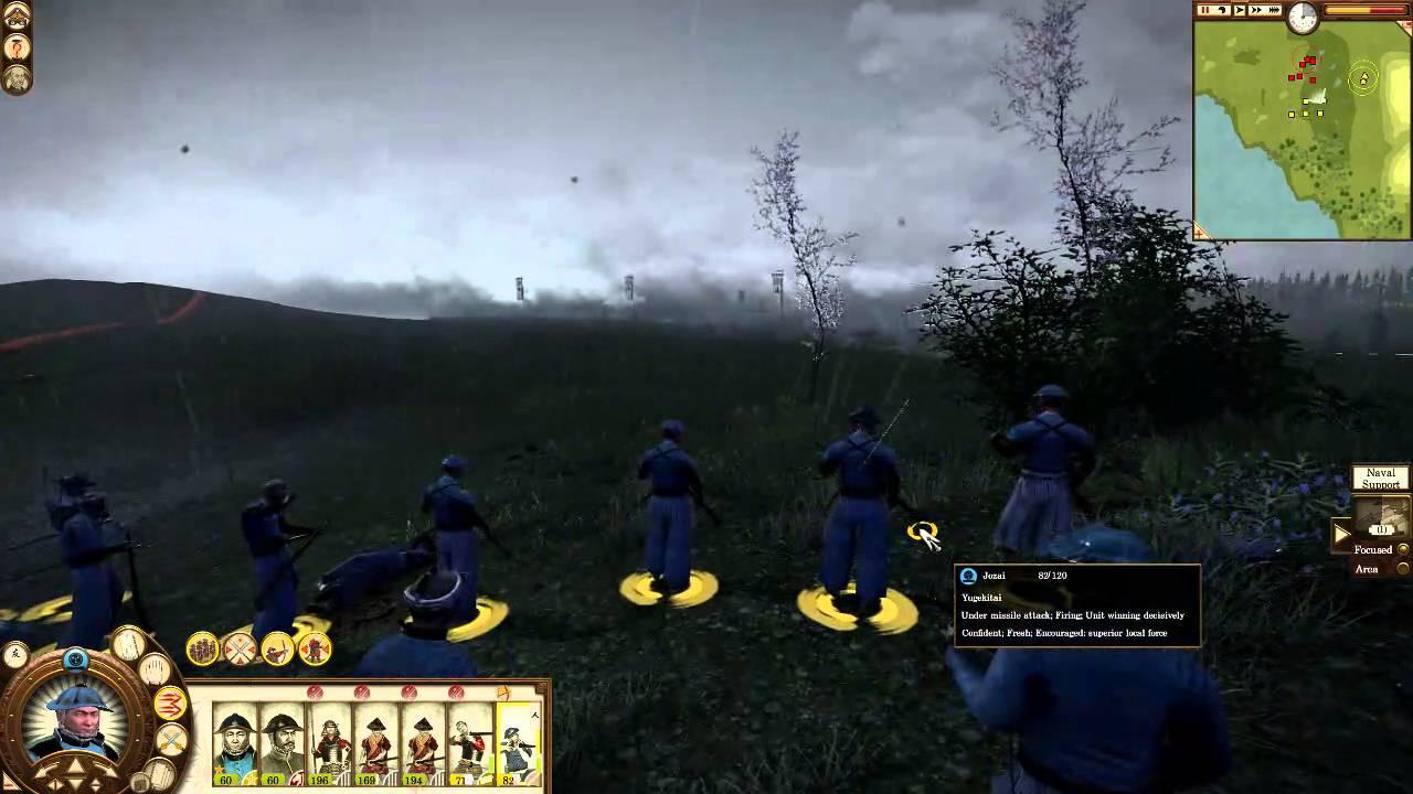 Download Total War Shogun 2: Fall of the Samurai Jozai Campaign Battle #1