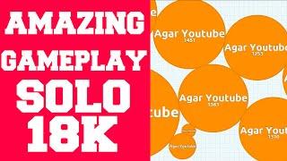 Agar.io Todays GamePlay 11.07.2015 SOLO (18400) ★ HighScore ★