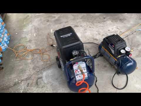 Diferencia de Compresores de aire de 8 y 3 galones
